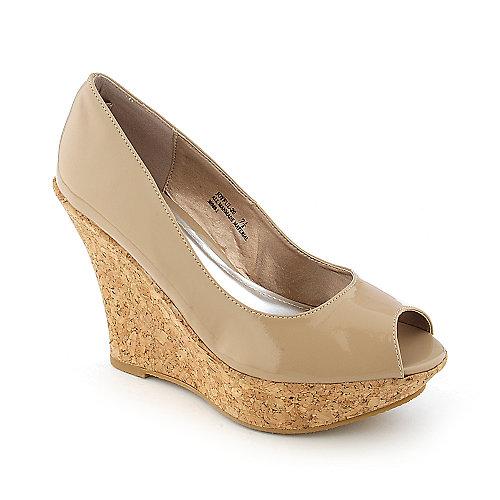 Bamboo Joyful-20 Natural Platform Shoes