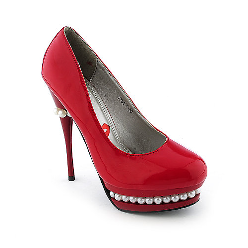 Red Kiss Womens Pearl-A0