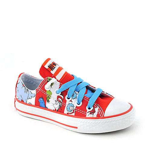 Converse Kids All Stars Dr Seuss Print Ox