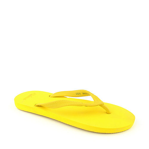 Tru Colours Flip Flop Sandals Yellow