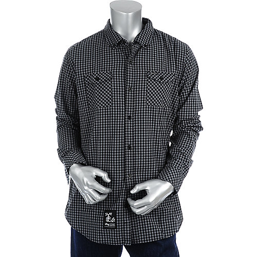 LRG Mens Long Sleeve Woven Shirt