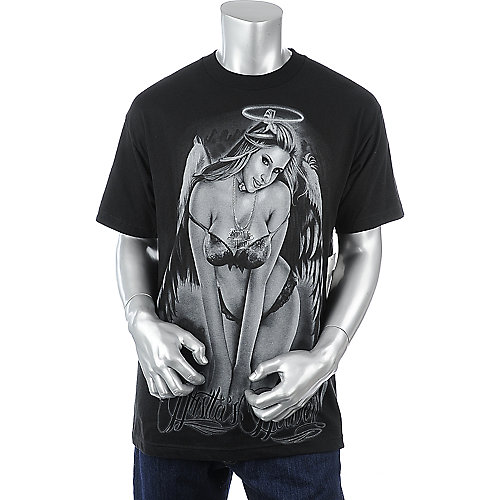 Bonafide Hustla Mens Angel Tee