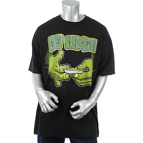 Economix Mens Green Hands Tee