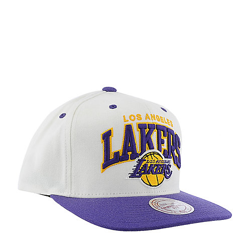Mitchell and Ness Los Angeles Lakers Cap