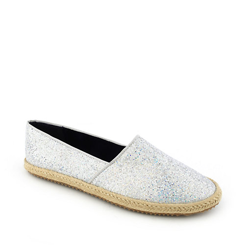 Promise JBrown Silver Glitter Shoes