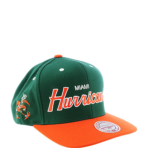 Mitchell and Ness Miami Hurricanes Cap
