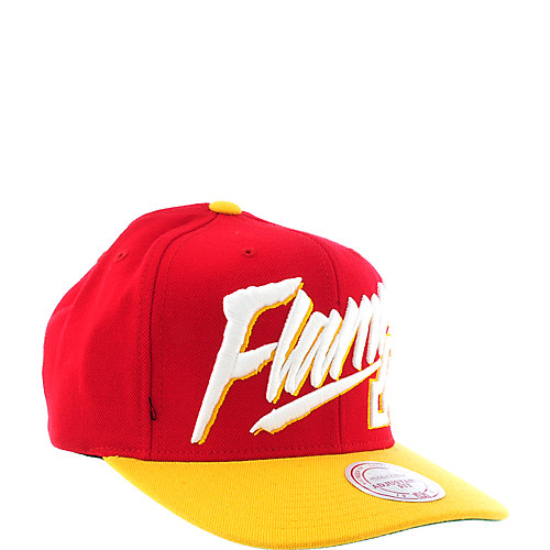Mitchell and Ness Calgary Flames Cap