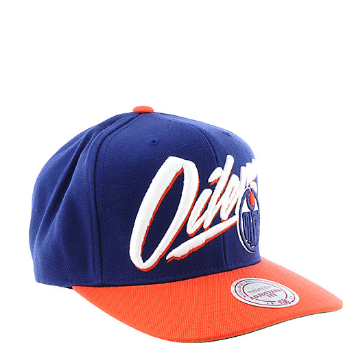 Mitchell and Ness Edmonton Oilers Cap