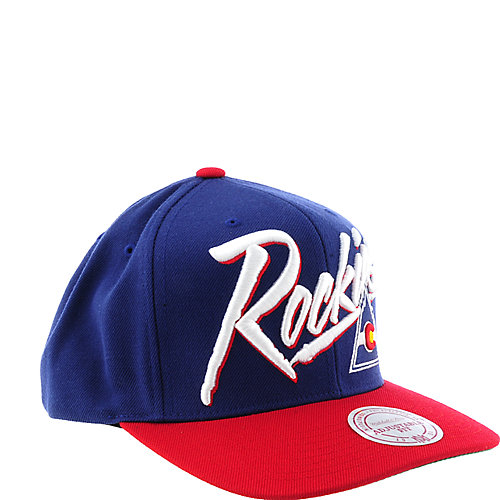 Mitchell and Ness Colorado Rockies Cap