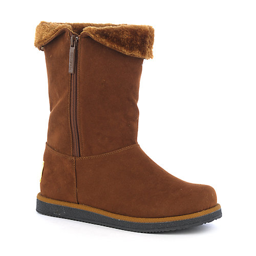 Shiekh Womens Urban Tan Fur Boots