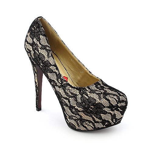 Red Kiss Womens Lace-AO