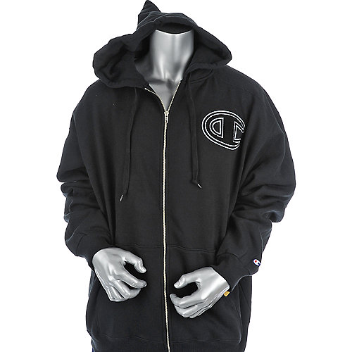 Champion Mens Super Fleece Zip-Up Hoodie