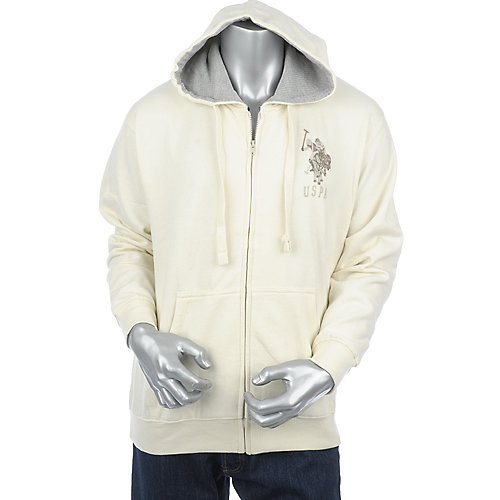 U.S. Polo Association Mens Full Zip Hoodie