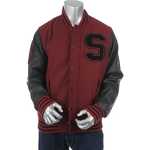 Supreme Society Mens Letterman Jacket