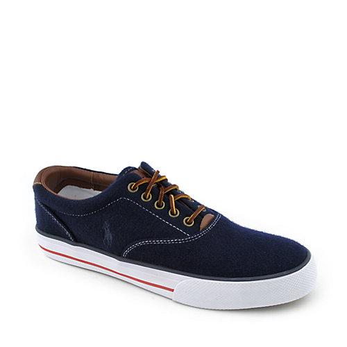 Polo Ralph Lauren Mens Vaughn Sneaker Navy