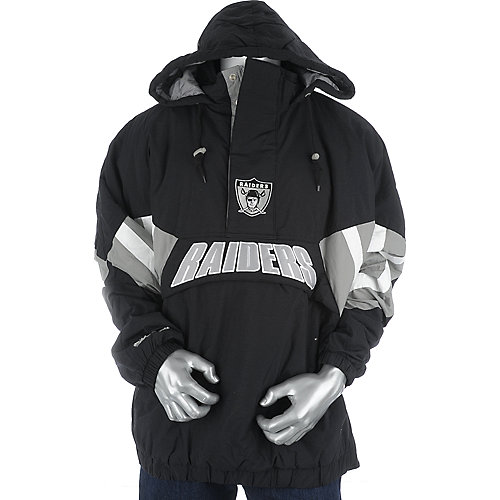 Mitchell and Ness Mens Oakland Raiders Flashback Jacket