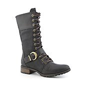 Timberland Womens Bethel Buckle Mid Lace Boot