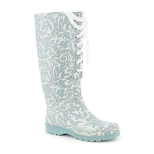 Nature Breeze Womens Lace-Up Rain Boot