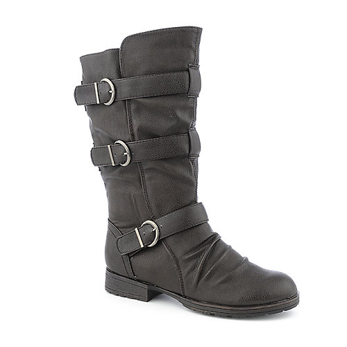 Breckelle's Womens Denver-16 Brown Mid-Calf Boots