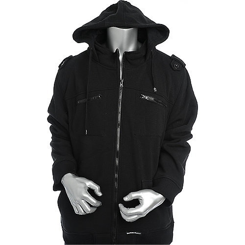 Supreme Society Mens Solid Fleece Jacket
