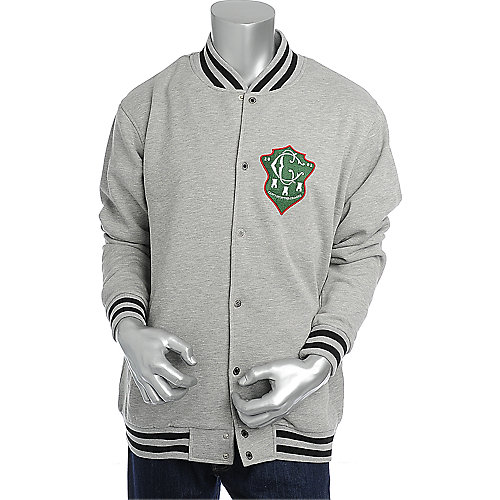 Crooks & Castles Mens Double C Stadium Jacket