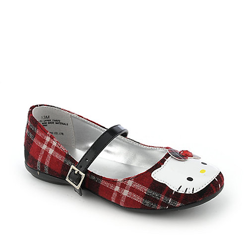 Hello Kitty Kids Plaid Kitty