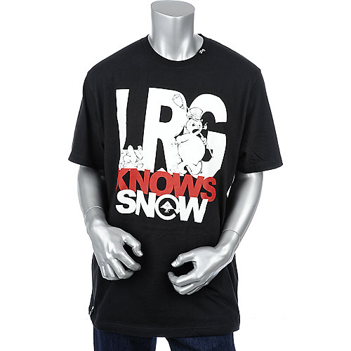 LRG Mens Knows Snow Tee