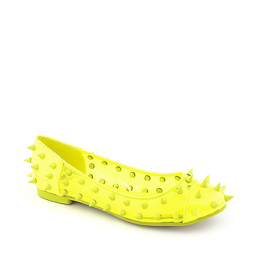 Shiekh Womens 030 Spiked Flat