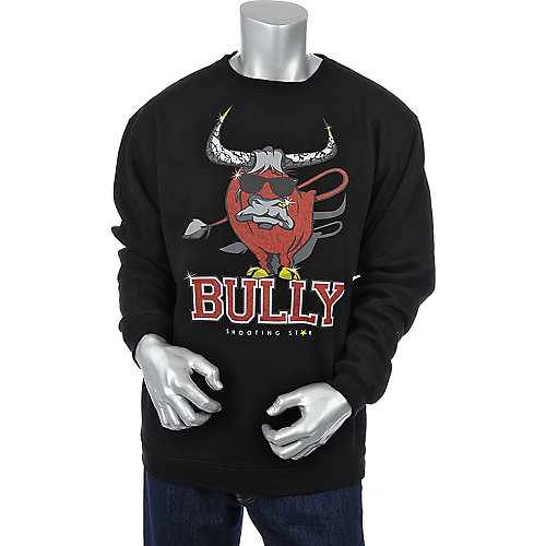 Shooting Star Clothing Mens Bully Crewneck