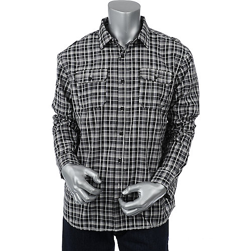 No Retreat Mens The Bay Long Sleeve Shirt