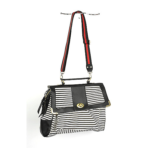 Nila Anthony Striped Handbag