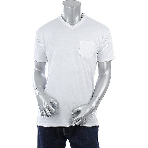 Jordan Craig Mens Double Layer V-Neck
