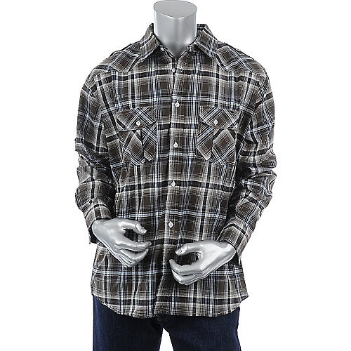Cavier Dremes Mens Long Sleeve Woven Shirt
