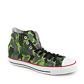 Converse Mens All Star Camo Hi