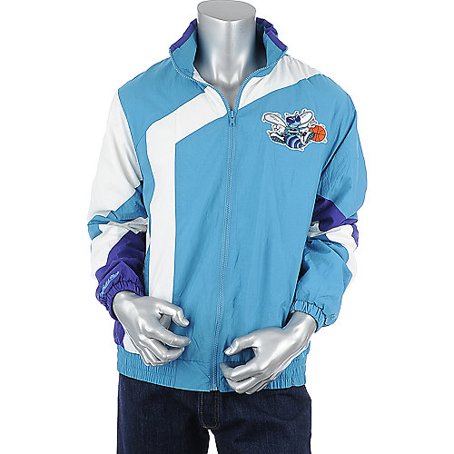 Mitchell and Ness Mens Hornets Jacket