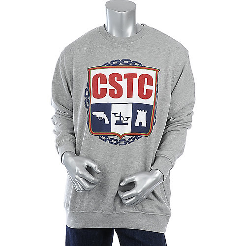 Crooks & Castles Mens Crest Crewneck Sweater