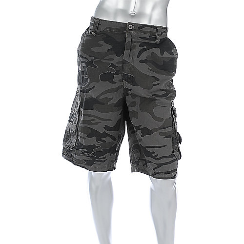 Shiekh Mens Camo Rip Stop Short