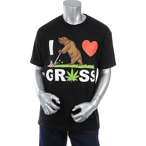 Economix Mens I Luv Grass Tee