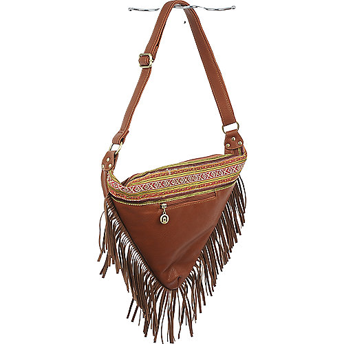 Nila Anthony Triangle Fringe Bag