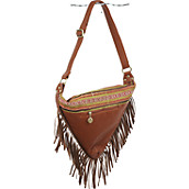 Triangle Fringe Bag