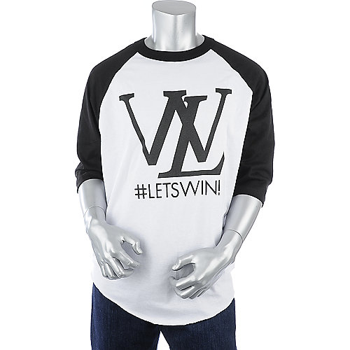 Shiekh Mens Lets Win Baseball Tee