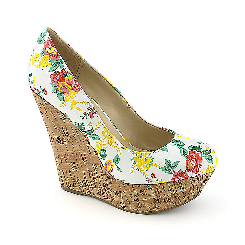 Breckelle's Cilo-07P Multi-Color Platform Shoes