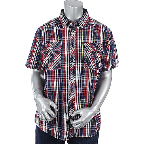 Supreme Society Mens Plaid Shirt