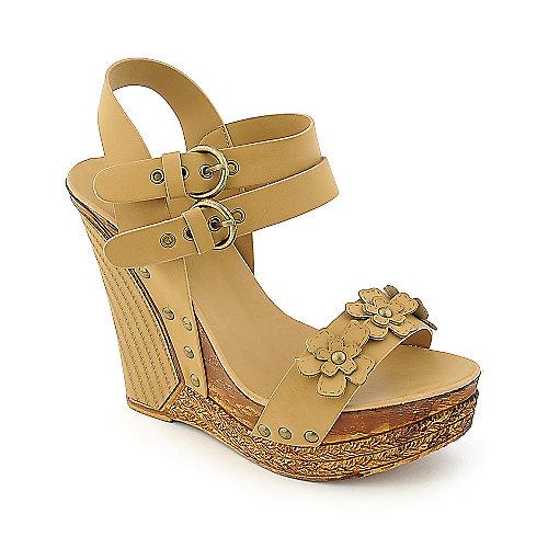 Beauty Heel Annie-011 Tan Platform Shoes