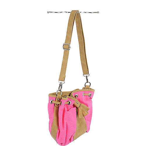 Shiekh Neon Canvas Handbag
