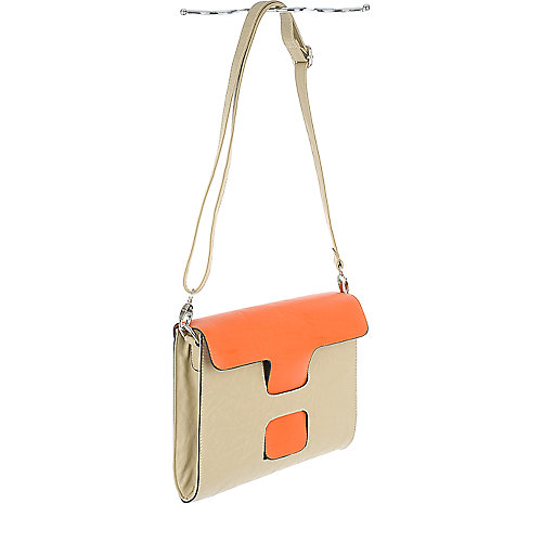 Shiekh Color Block Satchel