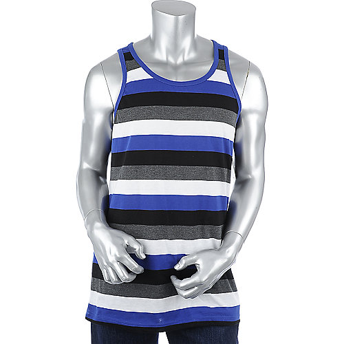 Galaxy by Harvic Mens Stripe Tank