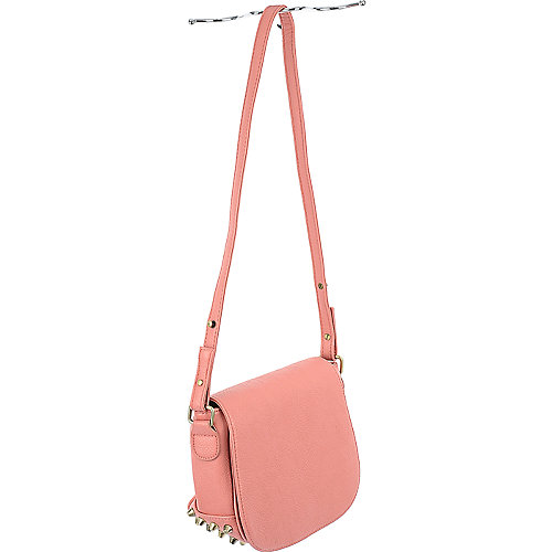 nuG Womens Studded Shoulder Bag