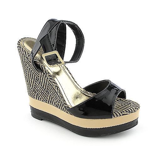 Bamboo Energy-08 Multi-Color Platform Shoes