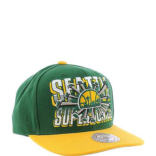 Mitchell and Ness Seattle Supersonics Cap
